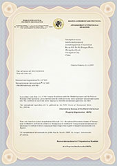 CAF国外注册证2