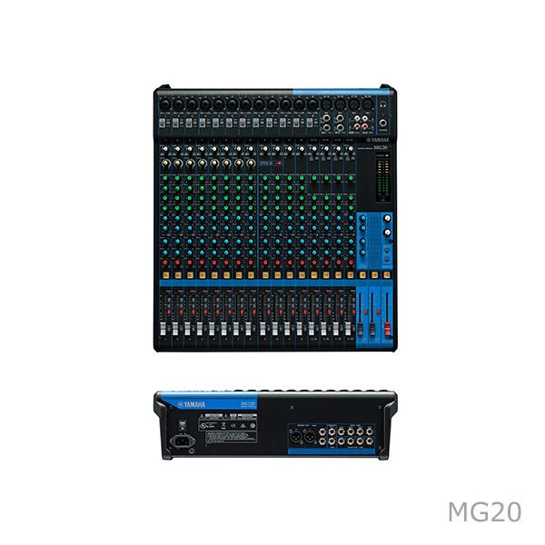 [雅马哈] MG系列 调音台