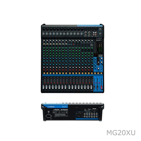[雅马哈] MG XU系列调音台